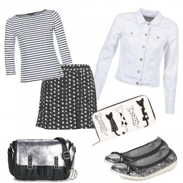 Outfit Spartoo star and stripes