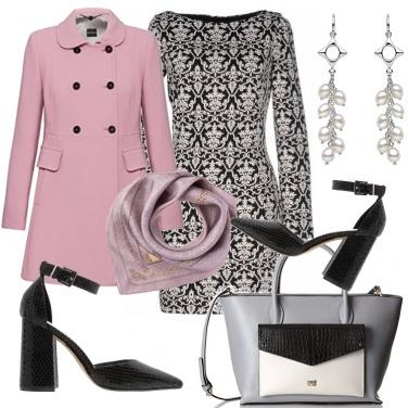 Outfit Delizioso il cappottino rosa