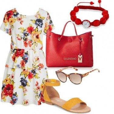Outfit Con i colori del sole