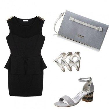 Outfit Vestito corto dall\'animo glam rock