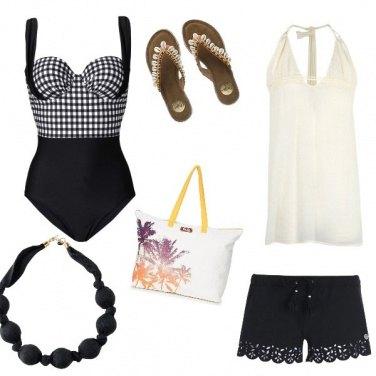 Outfit Curvy beach
