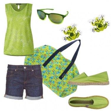 Outfit Espadrillas color Ranocchio