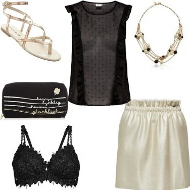 Outfit Ambra night look