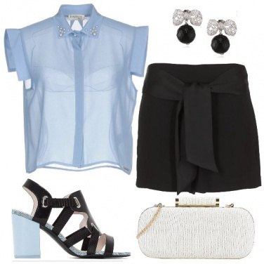 Outfit L\'eleganza in shorts