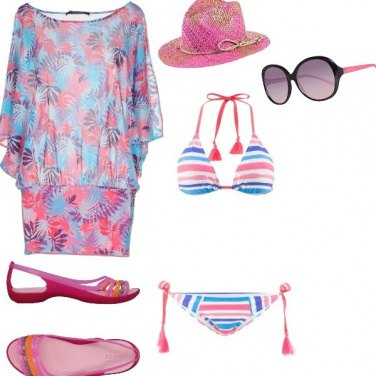 Outfit Costa corallina look