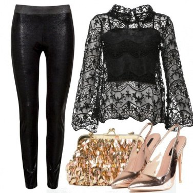 Outfit Sexy in pantalone