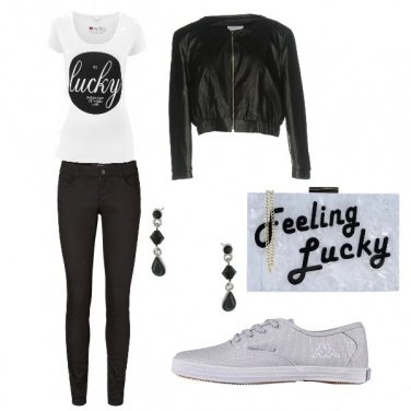 Outfit Lucky girl