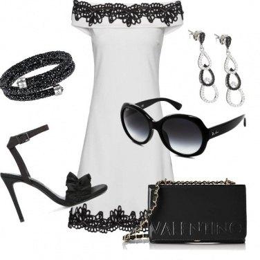 Outfit Interpretendo il bianco e nero