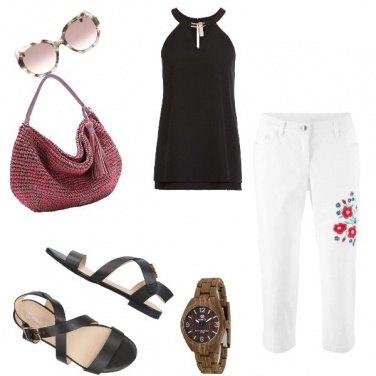 Outfit Basic, per una giornata calda in città