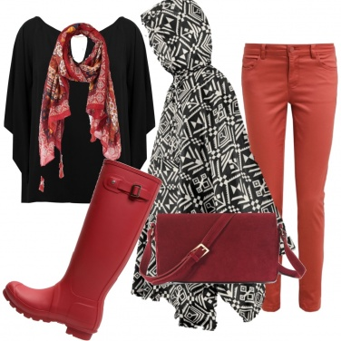 Outfit E\' venerdi e piove