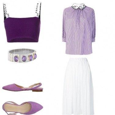 Outfit Lavanda look