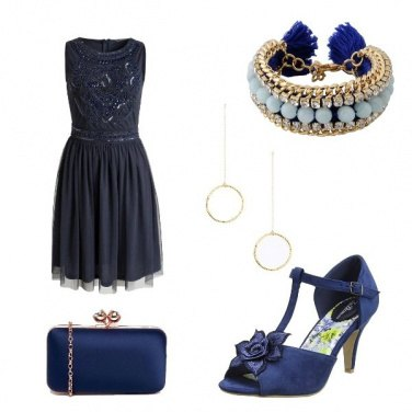 Outfit Sinfonia in blu