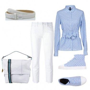 Outfit A tutta camicia