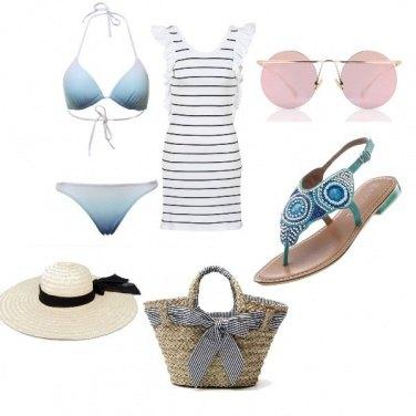 Outfit Spiaggia delicatezza