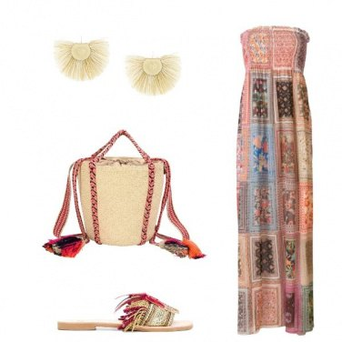 Outfit L'abito patchwork