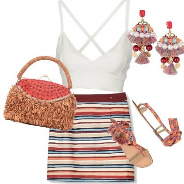 Outfit orecchini gipsy chic