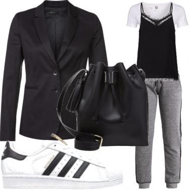 Outfit Pizzo&tuta