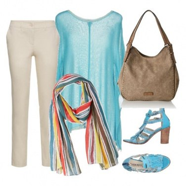 Outfit Qualcosa di turchese