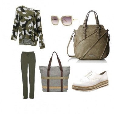 Outfit Dolce Safari