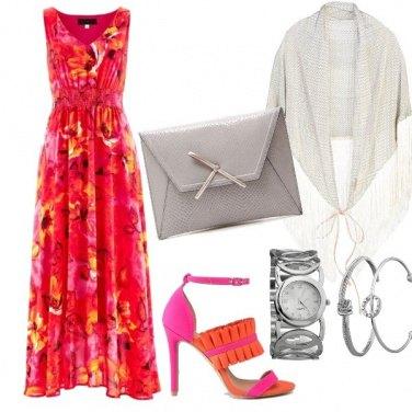 Outfit Cerimonia estiva e colorata