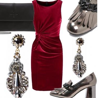 Outfit Bon tono in rosso