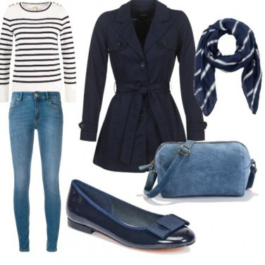 Outfit Passeggiando per Parigi