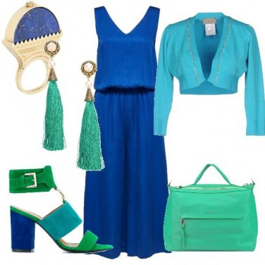 Outfit Blu marino