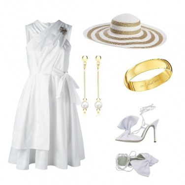 Outfit Sposa informale