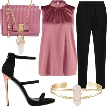 Outfit This is....black and pink