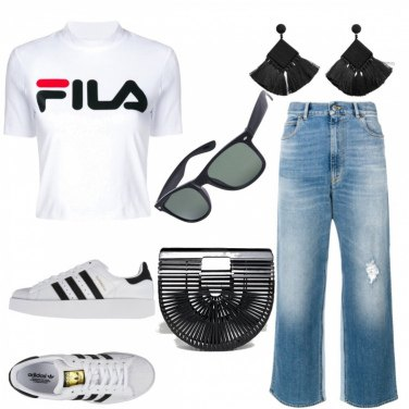 Outfit #Fila