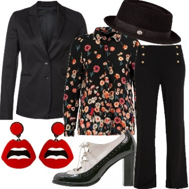 Outfit Mannish ultrafemminile