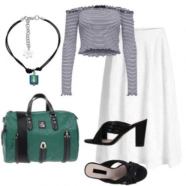 Outfit Bauletto verde