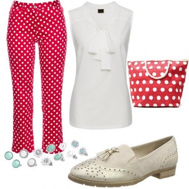 Outfit Pois che passione