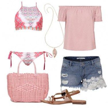 Outfit Ispirazione boho in spiaggia