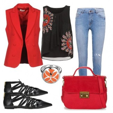 Outfit Impassioned red