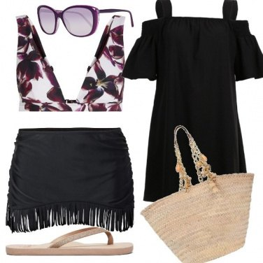 Outfit Sand, flowers and relax!