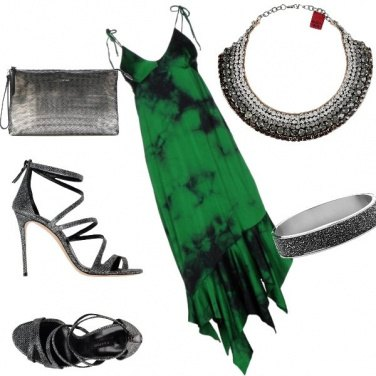 Outfit Verde un po\' dark