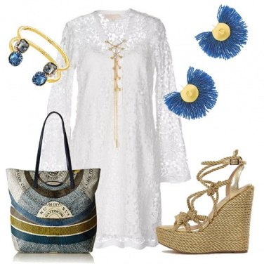 Outfit Top chic top etnic