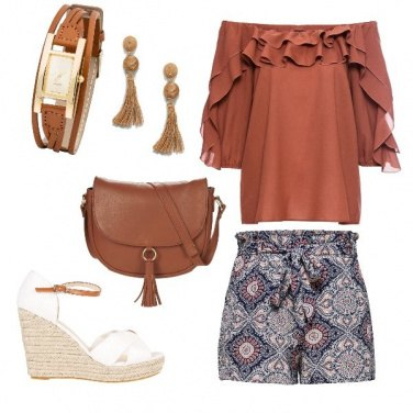 Outfit Boho chic low cost