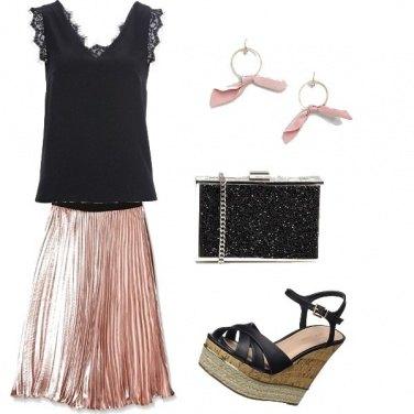Outfit La notte rosa