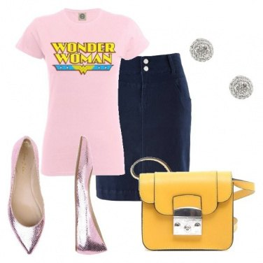 Outfit Wonder woman ...ogni giorno!