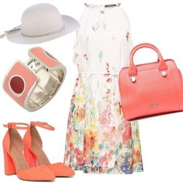 Outfit Cerimonia colori acquerello