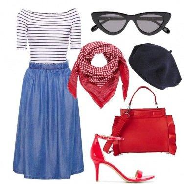 Outfit Oui, Paris!
