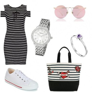 Outfit In righe