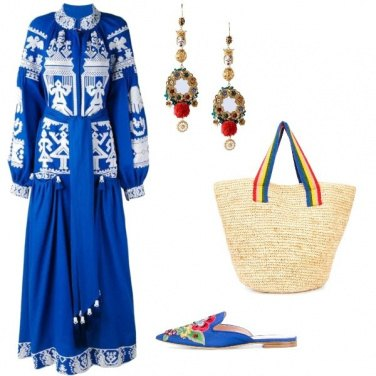 Outfit Etnico-chic