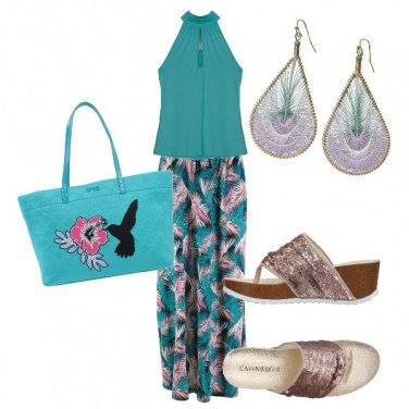 Outfit Turchese