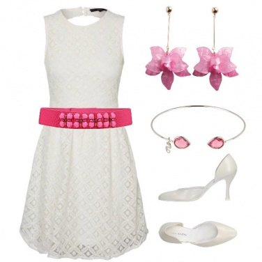 Outfit Romantica damina
