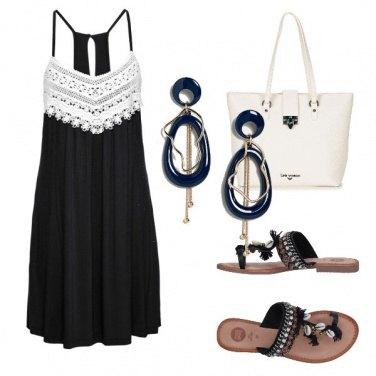 Outfit Le conchiglie sulla ciabattina