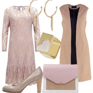 Outfit Rosa e alternativa