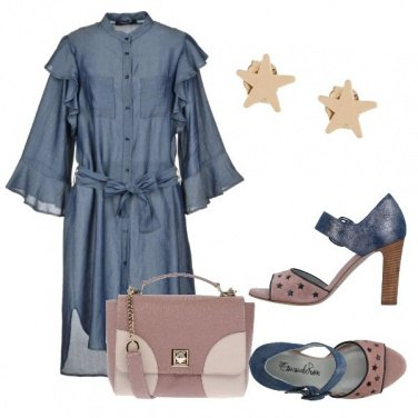 Outfit Denim e stelle